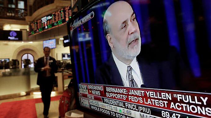Fed drosselt Konjukturspritzen: Bernanke läutet zum Abschied Kurswechsel ein