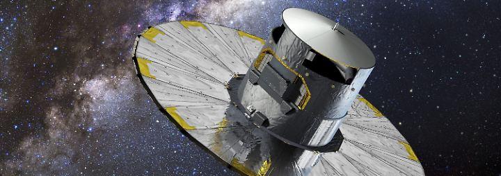 """""""Größte Entdeckungsmaschine"""": Neue Esa-Sonde """"Gaia"""" nimmt Milchstraße ins Visier"""