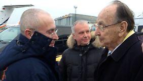 Chodorkowski ist nach seiner Entlassung nach Deutschland gereist.
