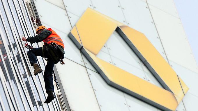 Mit der Commerzbank geht es wieder aufwärts.
