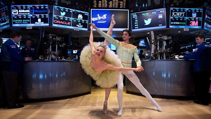 Der Schwung ist noch da. Die Stimmung an der Wall Street bleibt gut.