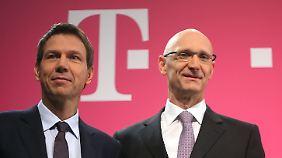 Neuer Telekom-Chef: Höttges macht den Obermann