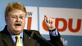 Freut sich nicht gerade über das Schweizer Abstimmungsergebnis: Elmar Brok.