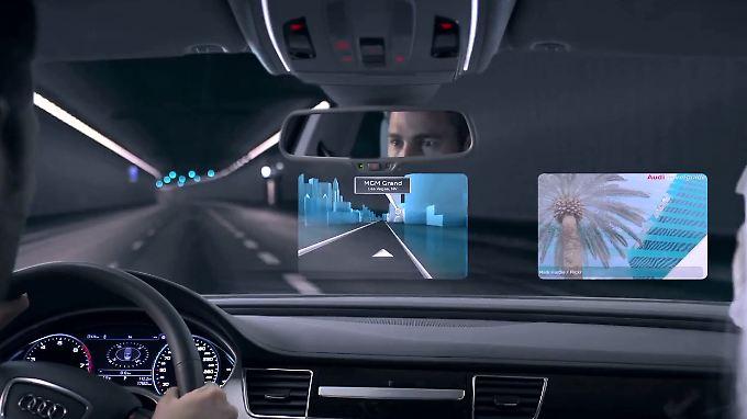 Audi hat schon jetzt Konzept-Autos mit Tegra-Systemen, aber noch ohne Android.