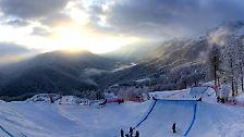 Oben, auf rund 2000 Metern Höhe, finden dann auch die alpinen Wettbewerbe der Spiele statt.