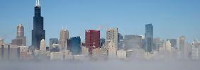 Blick auf Chicago.