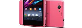 Compact heißt nicht klein: Sony schrumpft das Xperia Z1