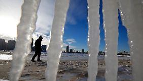 """""""Die schlimmste Nach meines Lebens"""": Amerikaner leiden bei gefühlten minus 50 Grad"""