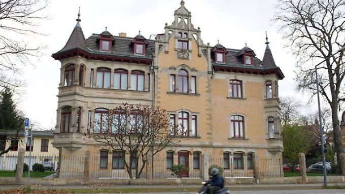 Sitz der Finanzgruppe in Dresden.