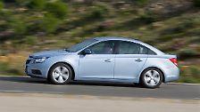 Platz fünf geht an den Chevrolet Cruze, das erste weltweit angebotene Modell der GM-Marke.