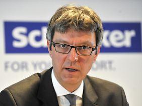 Arndt Geiwitz, der Insolvenzverwalter der insolventen Drogeriekette Schlecker (Archivbild).