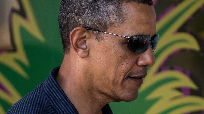 Beim Thema Drogen bleibt Obama cool.