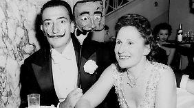 Auch Salvador Dali feierte gerne im Waldorf Astoria.