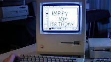 Kaum zu glauben, der Mac ist schon 30 Jahre alt. Am 24. Januar 1984 präsentierte Apple den ersten massentauglichen Computer mit grafischer Benutzeroberfläche und Maus-Bedienung.