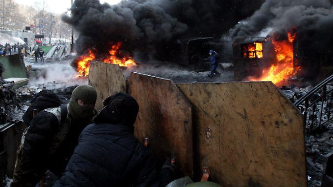24-Stunden-Ultimatum für Janukowitsch: Oppositionsführer Klitschko droht mit Angriff