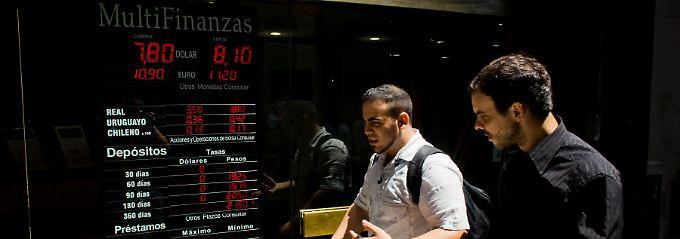 Risikostandort Argentinien.