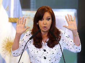 Präsidentin Cristina Fernandez de Kirchner.