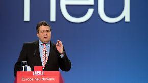 Selbstbewusst in die Europawahl: SPD feiert sich als Motor der Großen Koalition