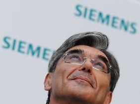 Joe Kaeser will Siemens wieder in ruhiges Fahrwasser führen.