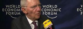 """Wolfgang Schäuble im n-tv Interview: """"Die Eurokrise ist nicht mehr akut"""""""