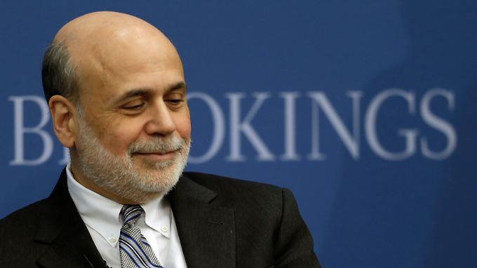 US-Notenbankchef Ben Bernanke kappt die Anleihenkäufe erwartungsgemäß - und verabschiedet sich.