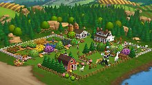 "Szene aus dem Zynga-Computerspiel ""Farmville 2""."