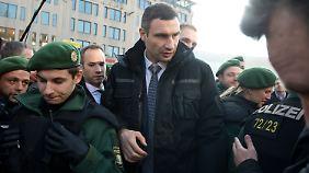 Oppositionsführer in München: Klitschko zieht alle Blicke auf sich