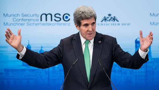 Kerry warnte Israel vor den Folgen der Boykottdrohungen. Dort kam das gar nicht gut an.