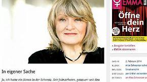 """""""Fehler wieder gutgemacht"""": Alice Schwarzer gesteht Steuerbetrug"""