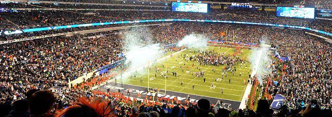 Ein Mega-Ereignis - für Fans und Werbeindustrie: Der Super Bowl der NFL.