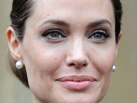 Auffällige Merkmale: Große Augen und volle Lippen geben Angelina Jolie einen hohen Wiedererkennungswert.