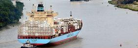 Der Panamakanal wird derzeit für eine neue Generation von Frachtschiffen ausgebaut.