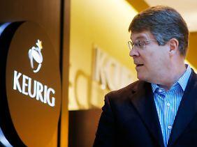 """Die Kaffeemaschine, die auch Cola kann: Brian Kelley setzt auf """"Keurig Gold""""."""