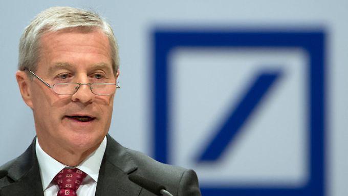 Co-Chef Jürgen Fitschen will 2014 die größten Rechtsstreitigkeiten beenden - dazu gehört dann wohl auch der Kirch-Prozess.