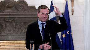 Haushaltsüberschuss erwartet: Samaras sieht Wende in Griechenland geschafft