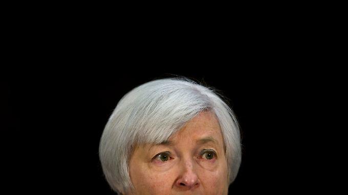 Muss den Über- und Durchblick behalten: Fed-Chefin Janet Yellen.