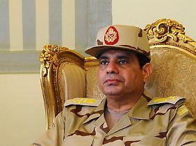 Der neue starke Mann Ägyptens? Militärchef Abdel Fattah al-Sisi kandidiert für das Präsidentenamt (Archivbild).