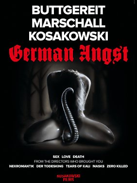 """Teaser-Poster zu """"German Angst""""."""