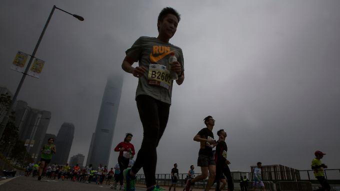 Der Schadstoffindex in Peking ist ein Zehnfaches des von der Weltgesundheitsorganisation empfohlenen Grenzwertes.