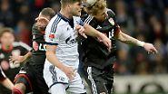 Schalkes Stürmer Klaas-Jan Huntelaar zu den Gründen für die vier Siege in der Rückrunde.