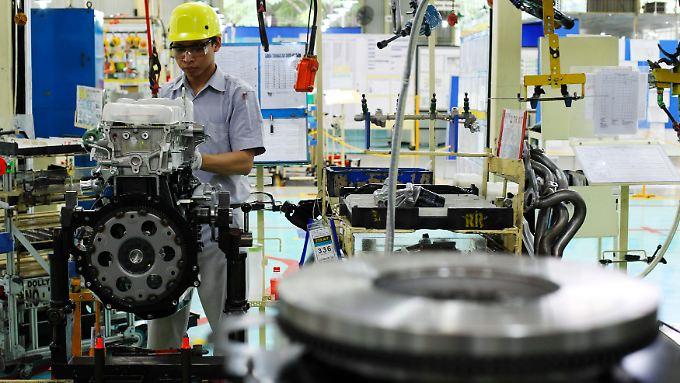Es hakt bei den Zulieferern: Etliche japanische Autobauer müssen die Bänder anhalten.