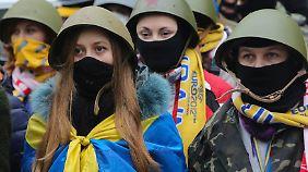 Chronologie der Proteste: Angst vor Bürgerkrieg in der Ukraine wächst