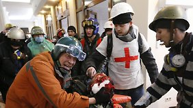 Schrecken auf dem Maidan: Scharfschützen gehen gezielt gegen Demonstranten vor