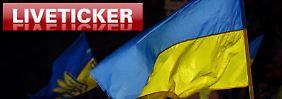 Ukraine am Rand des Bürgerkriegs: +++ 16:43 Steinmeier: Ukraine stand vor Spaltung +++