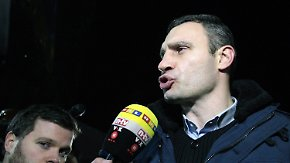 Vitali Klitschko im Interview: Oppositionsführer will Spaltung der Ukraine verhindern