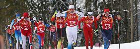Skilanglauf-Marathon zum Olympia-Finale: Ein Wettkampf, der Legenden schafft