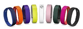 """Das """"SmartBand"""" soll die Smartphones von Sony ergänzen."""