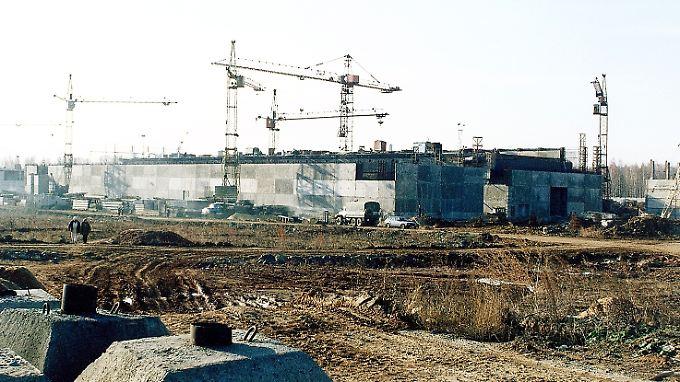 Ein undatiertes Foto der Anlage in Majak.