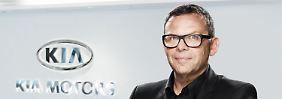 Peter Schreyer, Popstar und Chefdesigner von Hyundai und Kia.