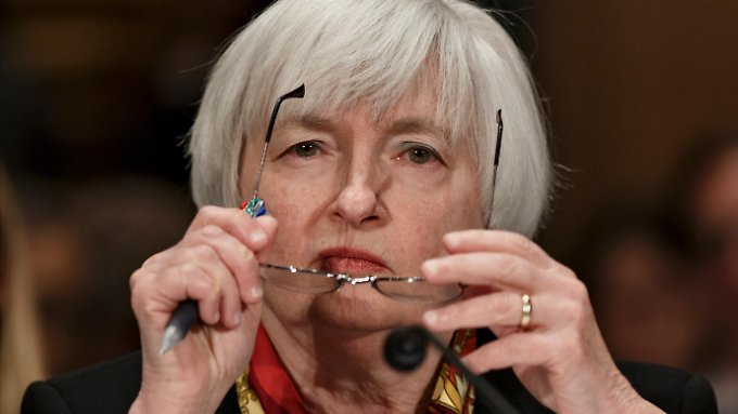 Fed-Chefin Janet Yellen bleibt ihrer Linie treu.